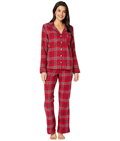 UGG Raven Set Flannel Gift (Chili Pepper Plaid) Women