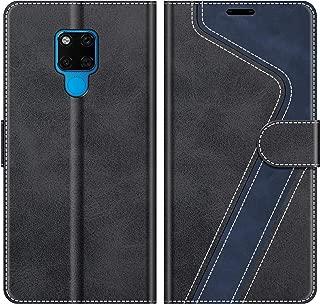 XTCASE Funda para Huawei P30 Lite Protector de Pantalla in Cristal Templado Negro Armor Carcasa con 360 Anillo iman Soporte Robusta Carcasa H/íbrida TPU+PC de Doble Capa Anti-ara/ñazos C/áscara