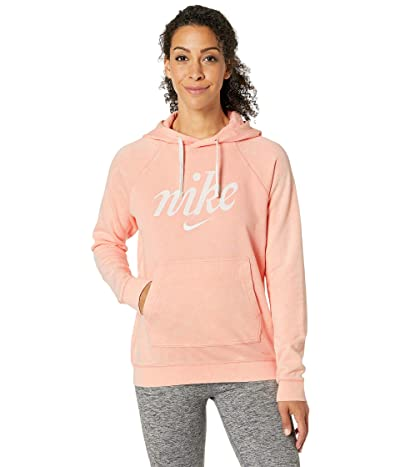 Nike NSW Hoodie Pro Wash (Bleached Coral/Summit White) Women