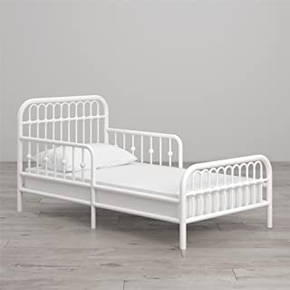 Best white metal toddler bed Reviews