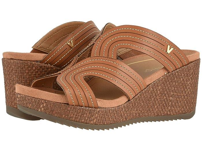 VIONIC  Malorie (Tan) Womens Wedge Shoes