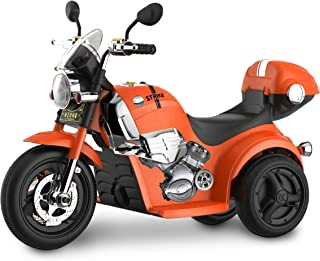 Kid Motorz 6V Motorcycle Ride On, Orange