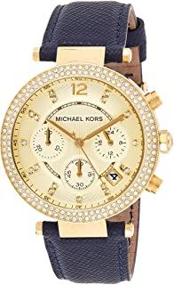 مايكل كورس ساعة رسمية نساء انالوج بعقارب جلد - MK2280