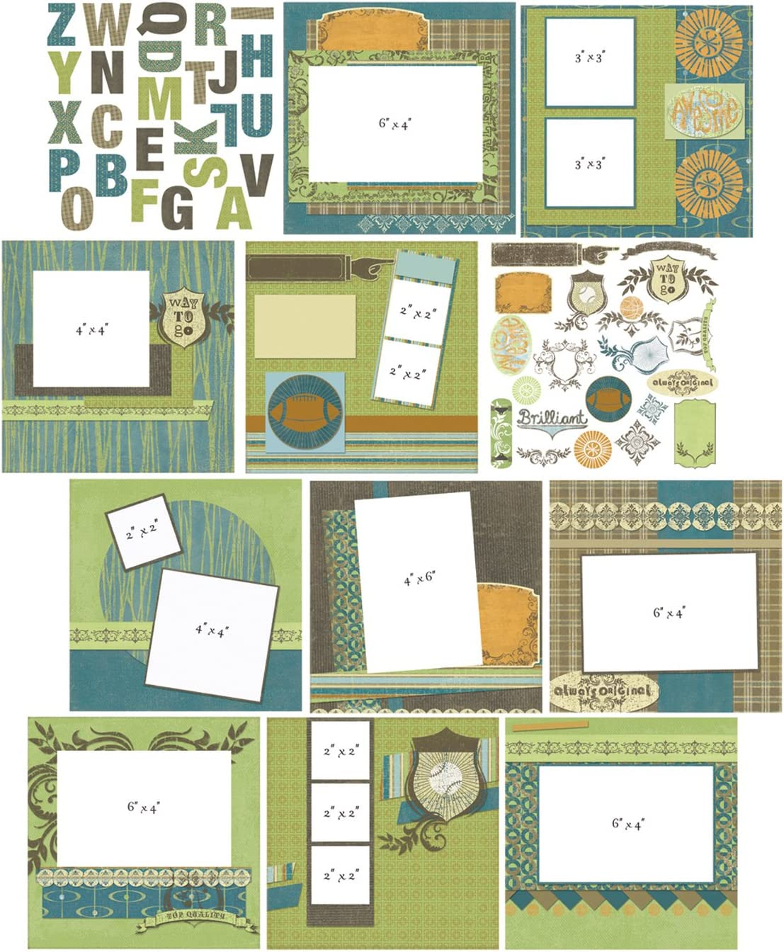 Baby Provo Craft YourStory 8-Inch-by-8-Inch Album Kit