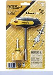 negro y amarillo unico Bianditz 238944 Angular portapuntas 1//4