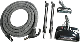 Cen-Tec Systems 93015 Central Vacuum Electric Kit with CT25, CT10, and 35 Foot Direct Connect Hose