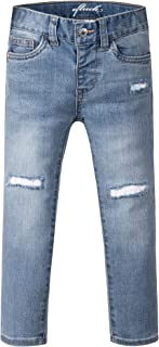 Sponsored Ad - OFLUCK Baby Girls Stretch Straight-fit Jeans