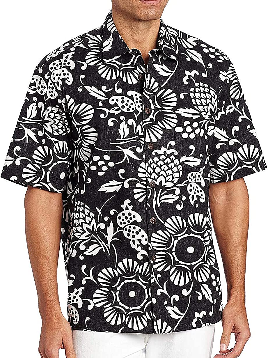 Kahala Men's Max 51% OFF Dukes Pareo Full Shirt Button Front Ranking integrated 1st place