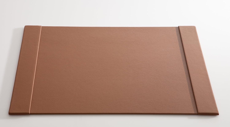 C. Matthey Schreibunterlage aus feinem italienischen Rindleder 50 x 70 cm, 0,6 cm dick, mit zwei 7 cm breiten Einsteckleisten, Farbe  haselnuss - Handmade in Germany B01N3JTJPZ   | Internationale Wahl