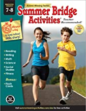 Summer Bridge Activities | Bridging Grades 7-8 | Summer Learning Workbook | 160pgs