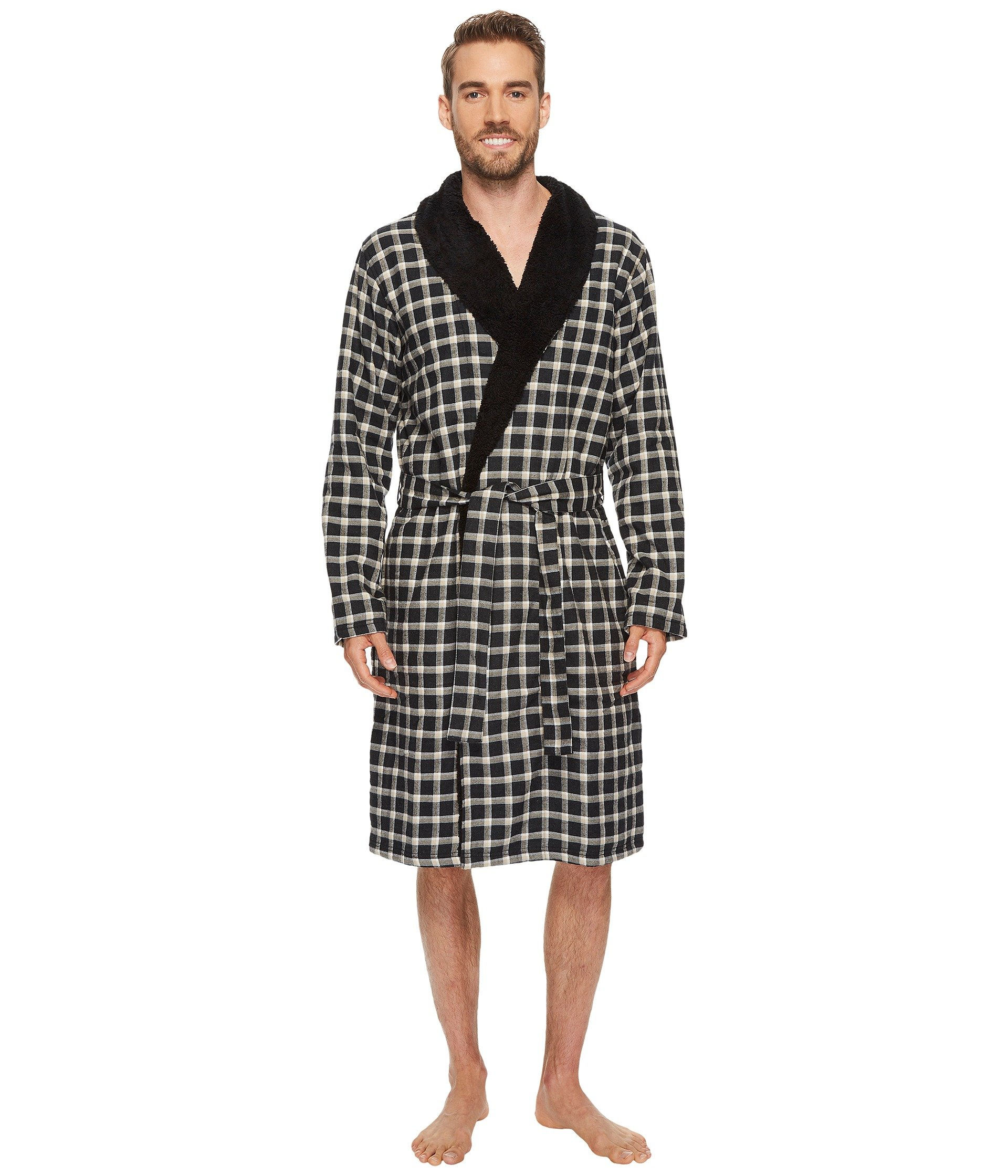 KALIB PLAID ROBE