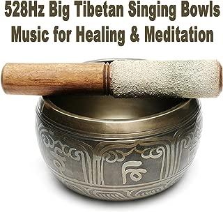 528Hz Big Tibetan Singing Bowls Music for Healing & Meditation