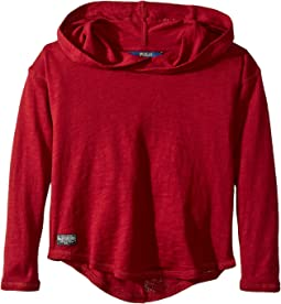 Polo Ralph Lauren Kids - Cotton Hooded Pullover (Little Kids)