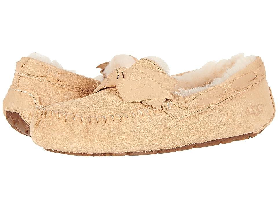 UGG Dakota Leather Bow (Soft Ochre) Women