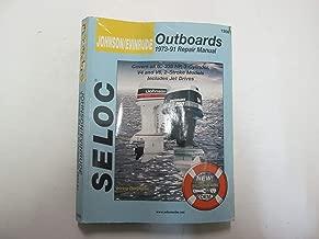 1973-91 Johnson Evinrude 60-235 HP 3 Cyl V4 V6 2 Stroke Service Manual 1308 ***