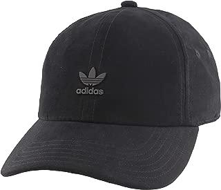Originals Men's Relaxed Metal Strapback Cap, Black/Black, ONE SIZE