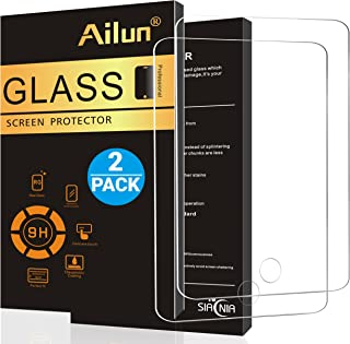 Ailun Screen Protector Compatible New iPad 9.7 inch 2017/2018 model,iPad Air 1,iPad Air 2,iPad Pro 9.7 [2Pack],Tempered Glass,[Apple Pencil Compatible]Anti-Scratch,Case Friendly-Siania Retail Package