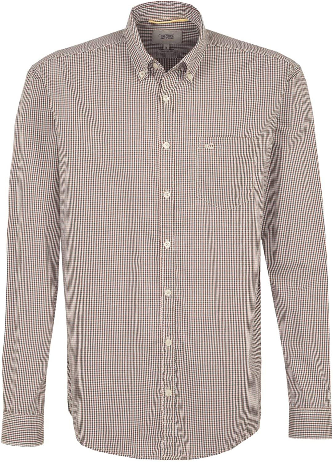 Camel active Herren Casual-Hemd Regular fit Langarm Button-Down-Kragen B07HPFG2CS  Britisches Temperament
