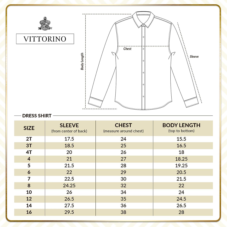Vittorino Boy's 4 Piece Formal Satin Tuxedo Vest Set with Vest Tie Bowtie Handkerchief