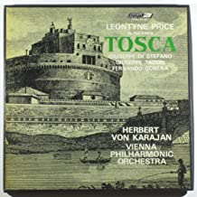 Leontyne Price in Puccini's Tosca / Herbert Von Karajan, Vienna Philharmonic Orchestra