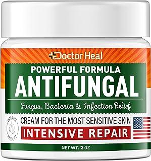 Antifungal Cream - Athletes Foot Cream - Made in USA - Fungus, Jock Itch, Body Acne & Athletes Foot Treatment - Fungus Cre...