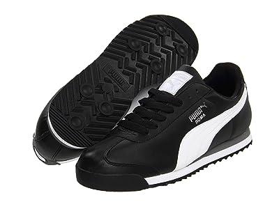 PUMA Roma Basic (Black/White/Puma Silver) Men