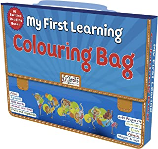 PEGASUS 10 Different Skill Development Early Learning Books for Pre-School Kids with Bag
