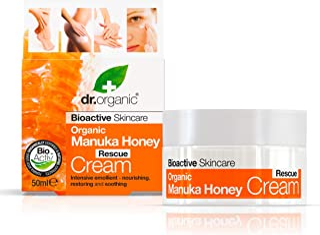 Organic Manuka Honey Rescue Cream Bioactive Skincare (1.7 Fluid Ounces)