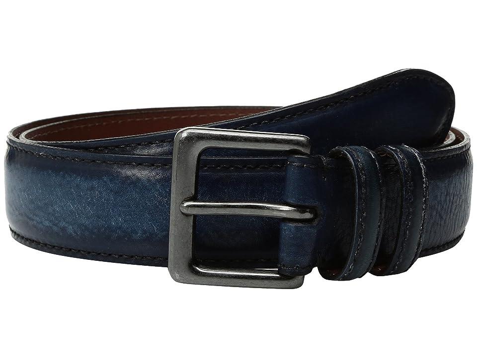 Torino Leather Co. 40mm Italian Antique Shrunken Shoulders (Navy) Men