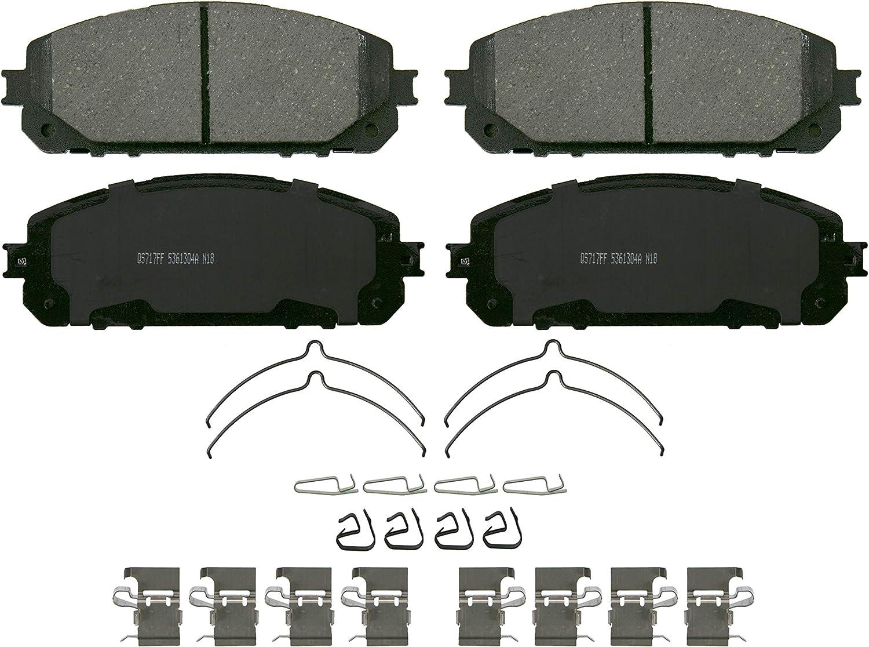Wagner QuickStop ZD1843 Ceramic Brake 定番キャンバス Pad Disc アイテム勢ぞろい Set
