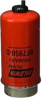 Baldwin Heavy Duty BF7950D Fuel Filter,7-21/32 x 3-1/2 x 7-21/32 In