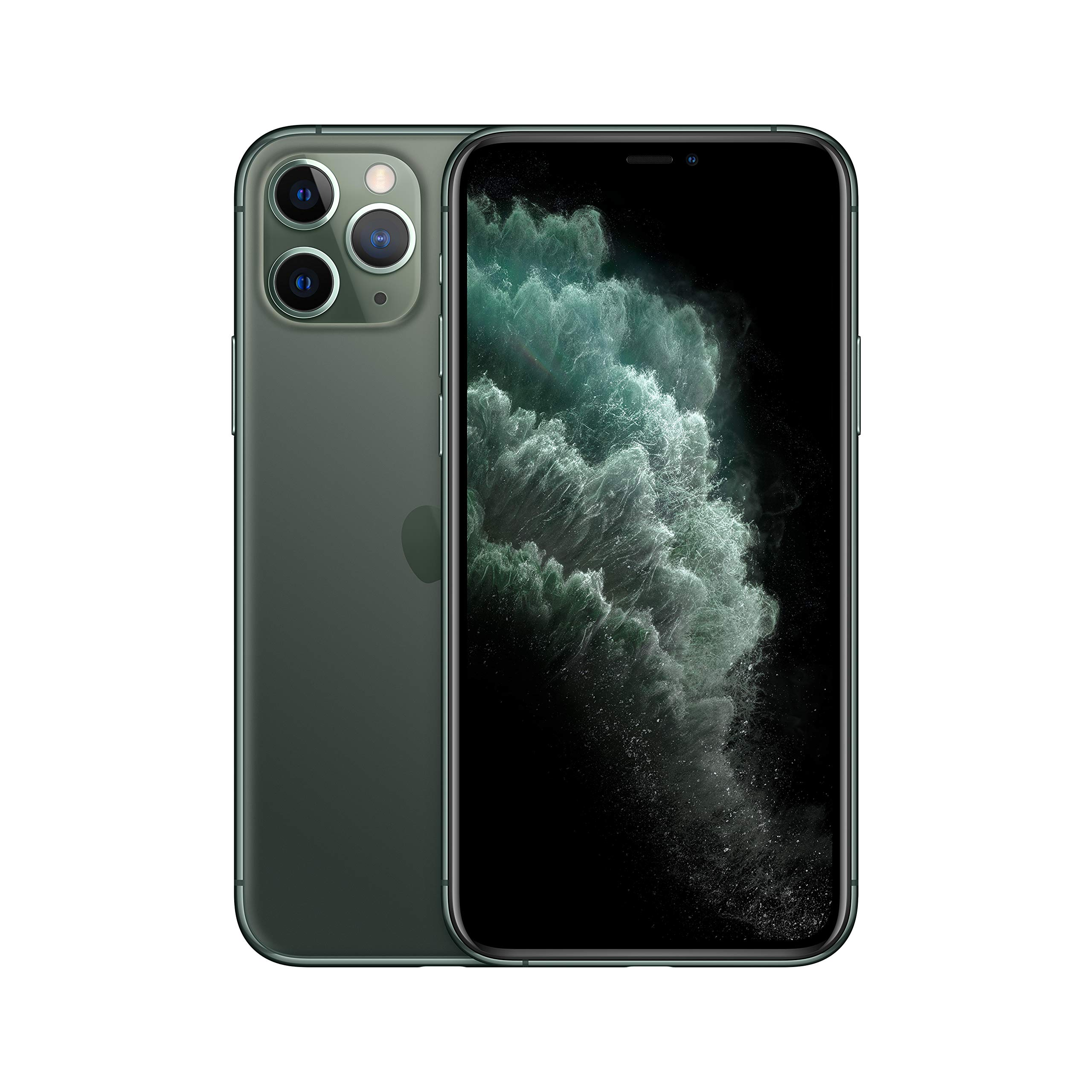 Apple iPhone 11 Pro [64GB, Midnight Green] + Carrier Subscription [Cricket Wireless]