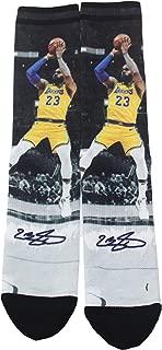 NBA Unisex 1-Pack Pop Player Crew Socks