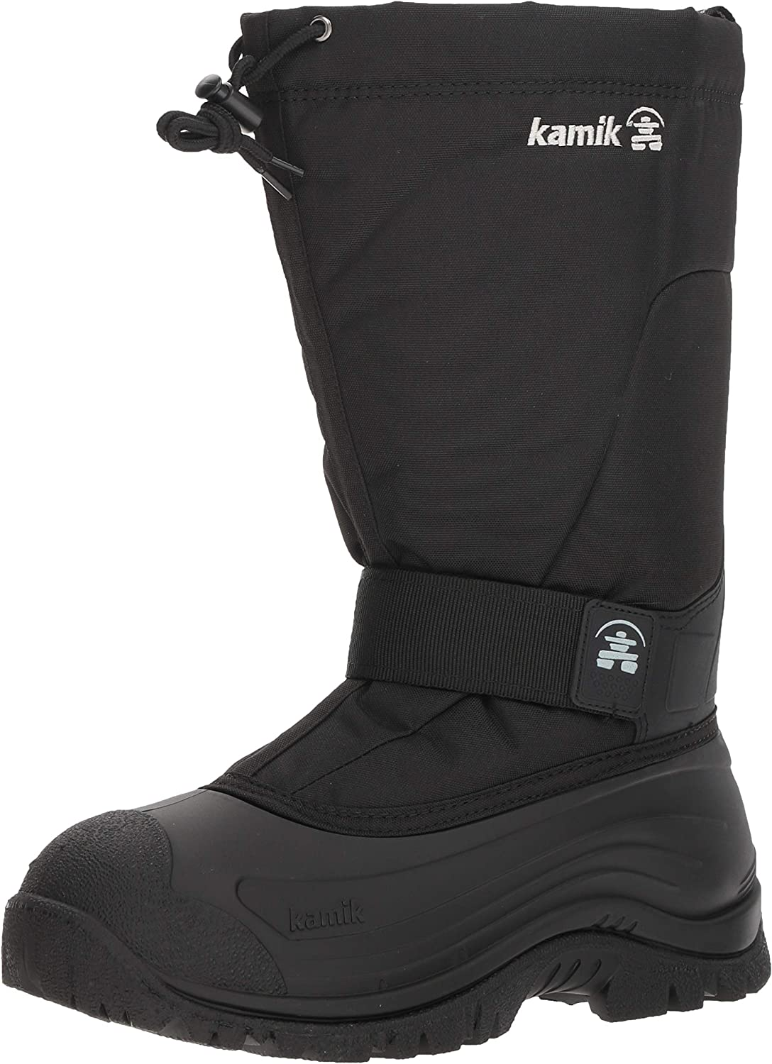 Kamik Greenbay 4 2021 spring and summer new Wide Inventory cleanup selling sale Black Boot Mens