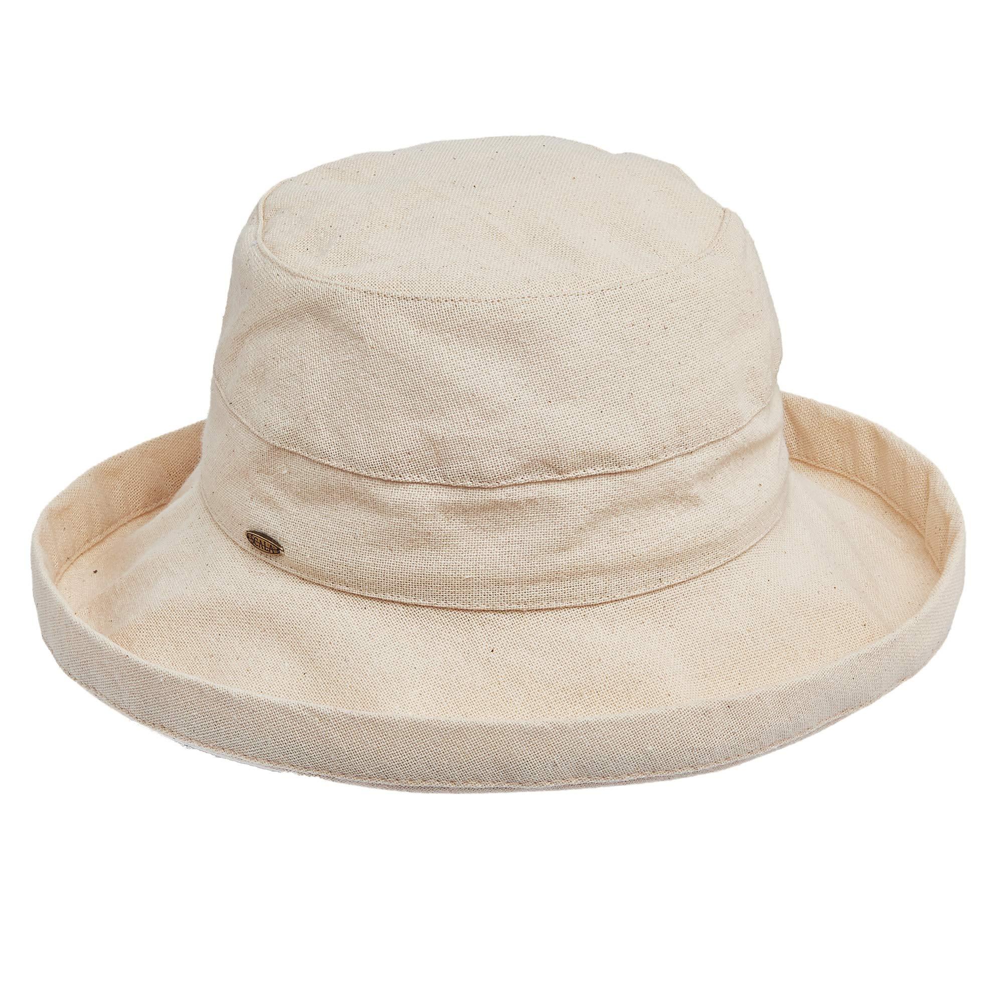Scala Womens Medium Cotton Linen