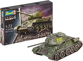 Revell-T-34/85 Kit Modelo, Multicolor (03302)