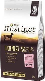 True Instinct High Meat Adult - Nature's Variety - Pienso para Perros Medium Adultos con Salmón - 2kg
