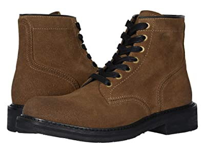 FRYE AND CO. Peak Work Boot (Tan Suede) Men