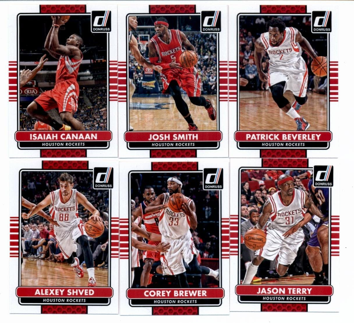 2014 15 Donruss Ranking integrated 1st place Basketball Team - Houston Set Sales for sale Veterans Rockets