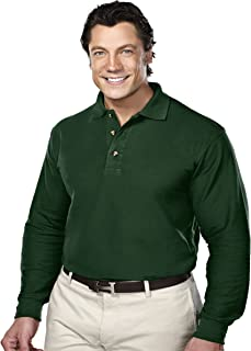Tri-Mountain Men's Big & Tall Polo Shirts in Short Sleeve and Long Sleeve Styles
