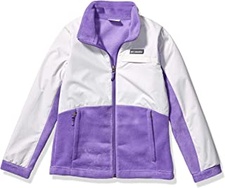 Columbia Girls 1620901 Benton SpringsTM Iii Overlay Fleece Standing Collar Fleece Jacket