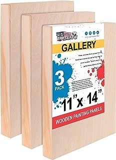 cradled art panels