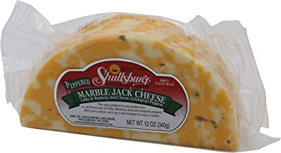 Shullsburg Creamery - Pepper Marble Jack 1/2 Moon Cheese - 12 oz.