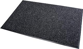 acerto 30184 Alfombrilla antisuciedad negra 60x90cm * Extremadamente duradera * Exterior e interior * Resistente a las hel...