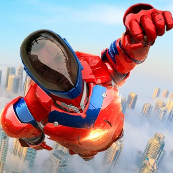 Flying Police Robot Hero Champ Survival In Battle Mode Fighting Quest Adventure  Criminal Attack City Rescue Warrior Revolution In battle Simulator Adventure Mission Games Free For Kids 2018
