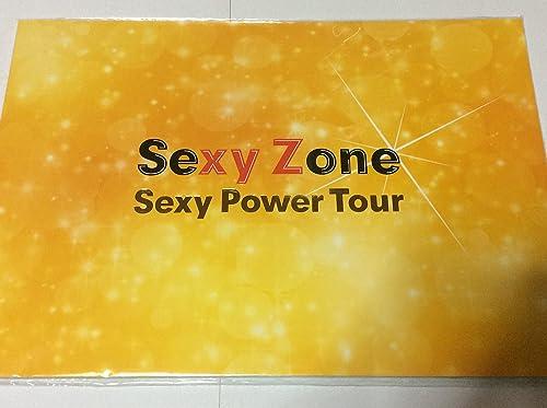 Broschure Sekuzo 2015 Harutamashi  Sexy Zone Sexy Netz Tour