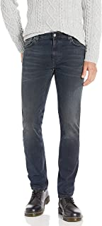 Nudie Unisex Thin Finn Blackend Blues Jeans