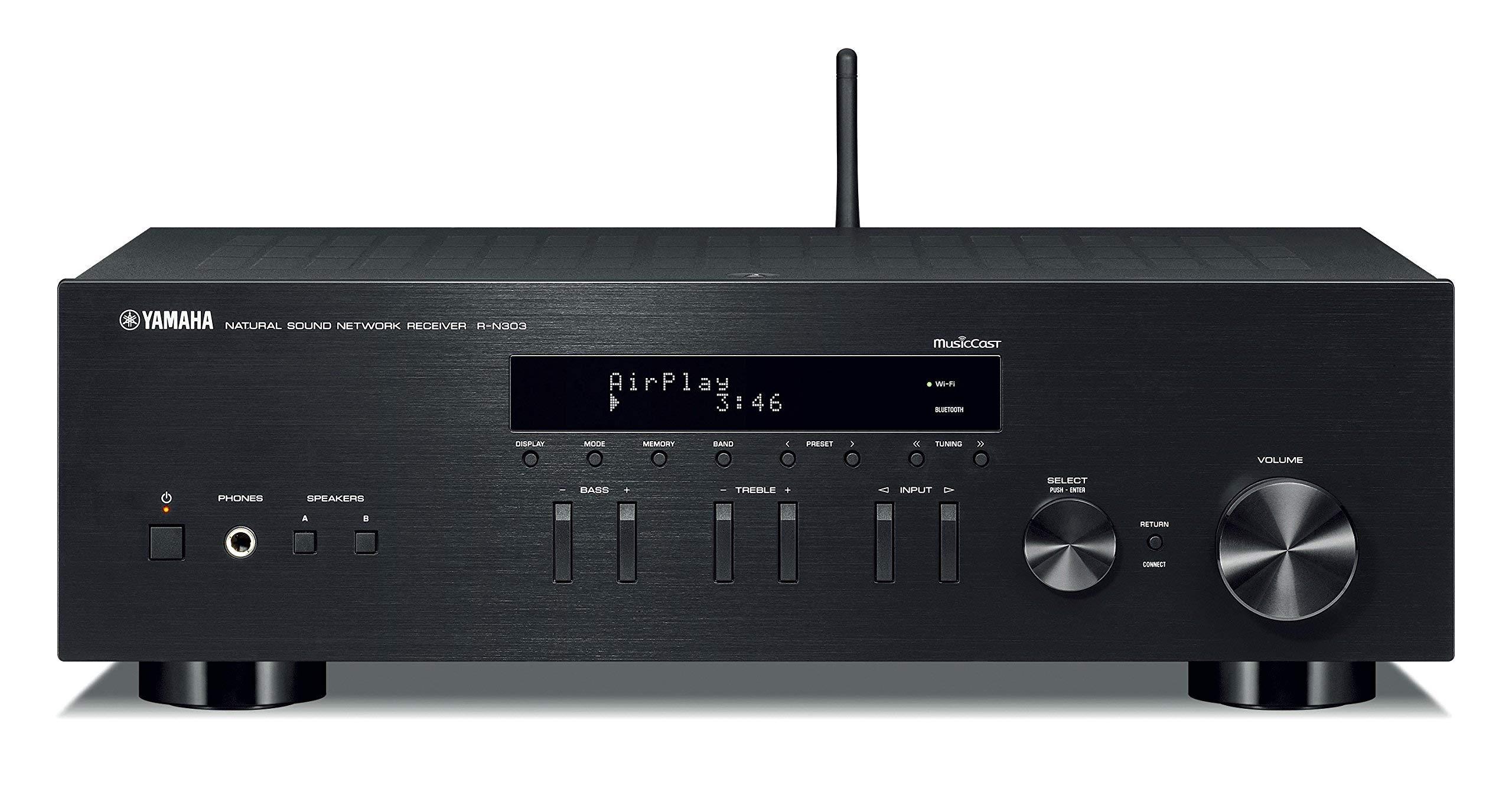 Yamaha R N303BL Receiver Bluetooth Renewed