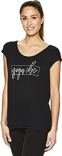 Gaiam Women's Dani Yoga Short Sleeve Graphic T-Shirt - Workout Top for Women