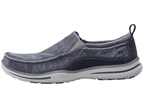SKECHERS Drigo Canvas Elected Relaxed Navy Fit wRq6Prw0